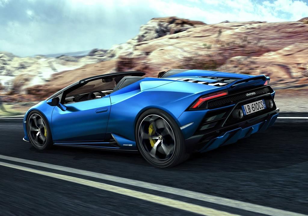 2021 Lamborghini Huracan Evo RWD Spyder Özellikleri
