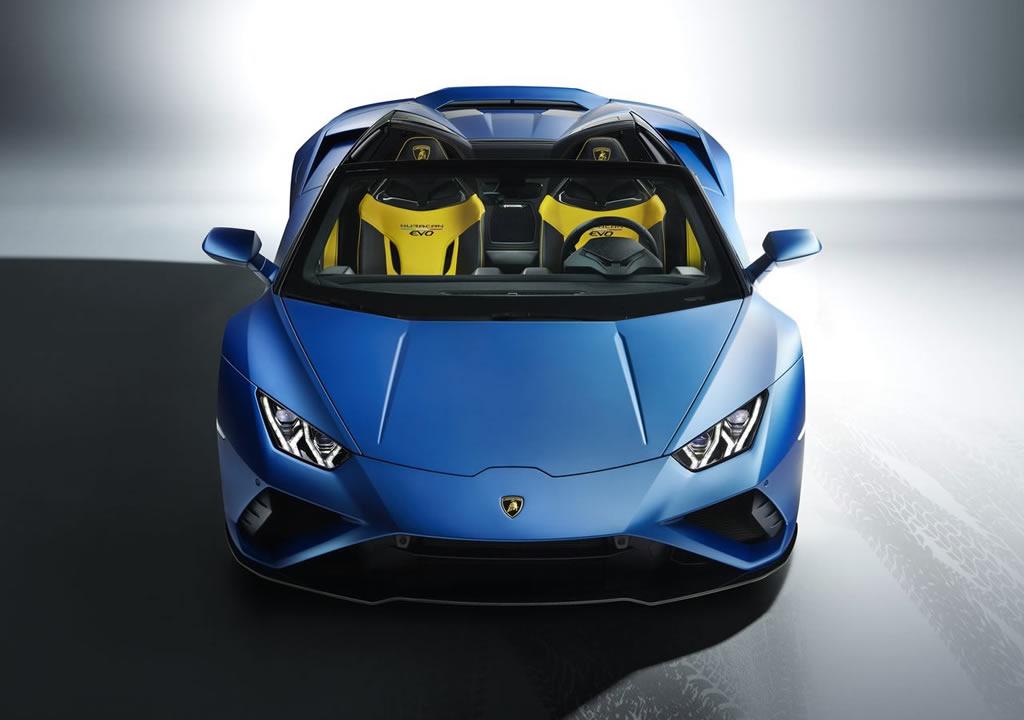 2021 Lamborghini Huracan Evo RWD Spyder Fotoğrafları