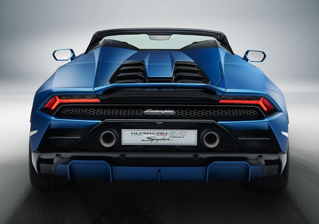 2021 Lamborghini Huracan Evo RWD Spyder Kaç Beygir?