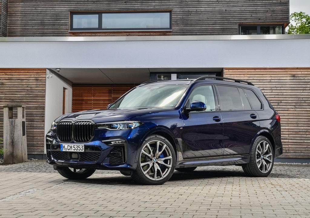 530 Beygirlik 2020 BMW X7 M50i Özellikleri