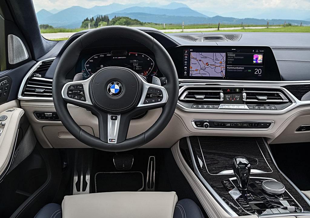 2020 BMW X7 M50i İçi