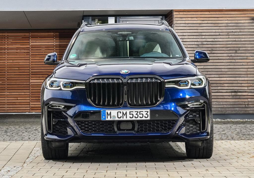2020 BMW X7 M50i 0-100 km/s