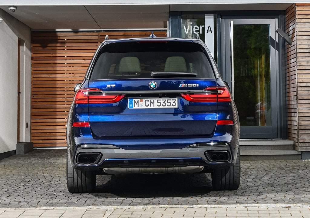 2020 BMW X7 M50i Donanımları