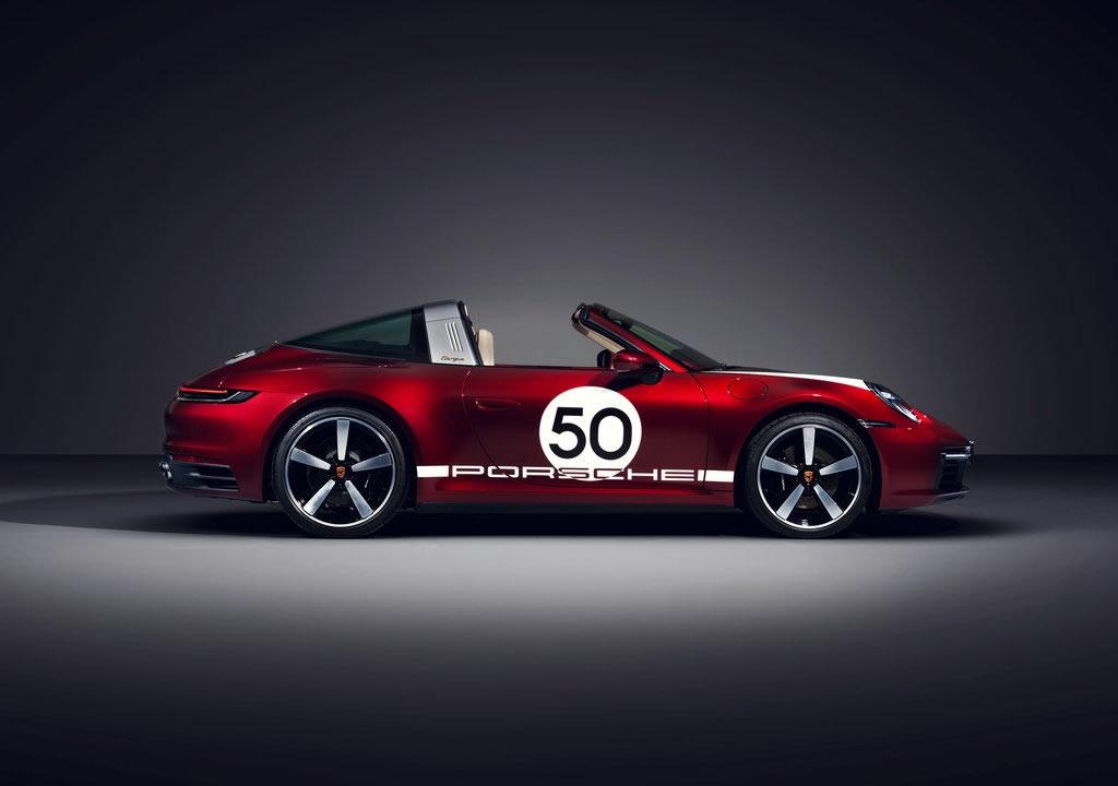 2021 Porsche 911 Targa 4S Heritage Design Edition Özellikleri