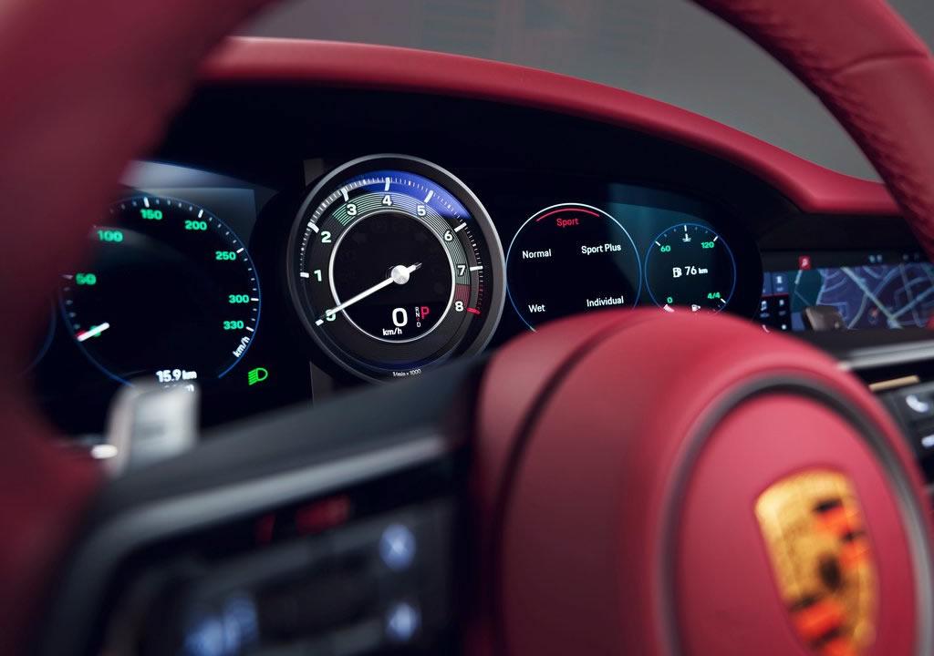 2021 Porsche 911 Targa 4S Heritage Design Edition İçi