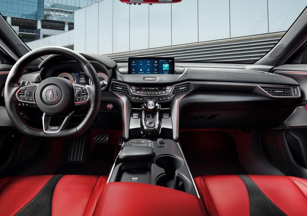 2021 Yeni Acura TLX Kokpiti
