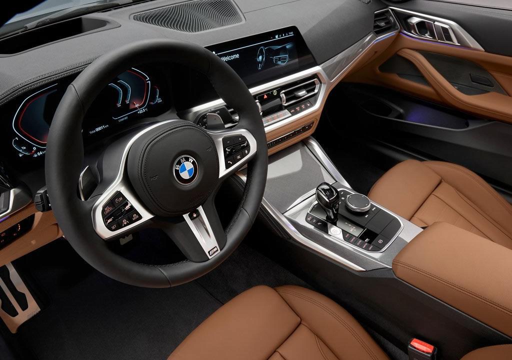 2021 Yeni Kasa BMW 4 Serisi Coupe Kokpiti