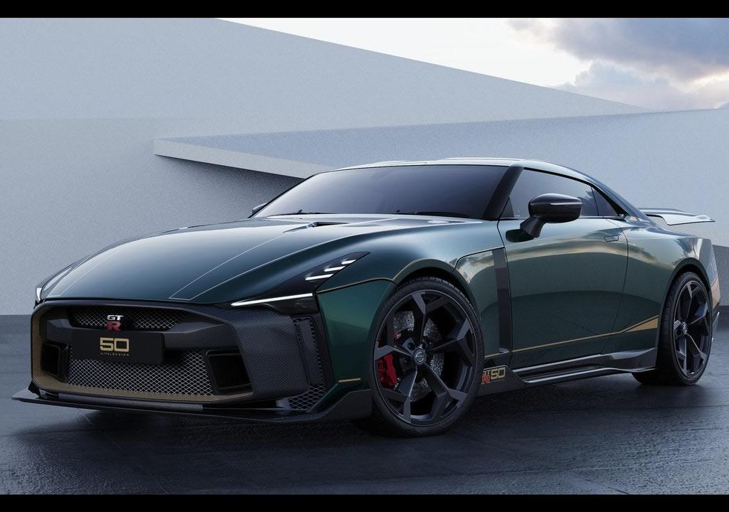 2021 Yeni Nissan GT-R50 Özellikleri