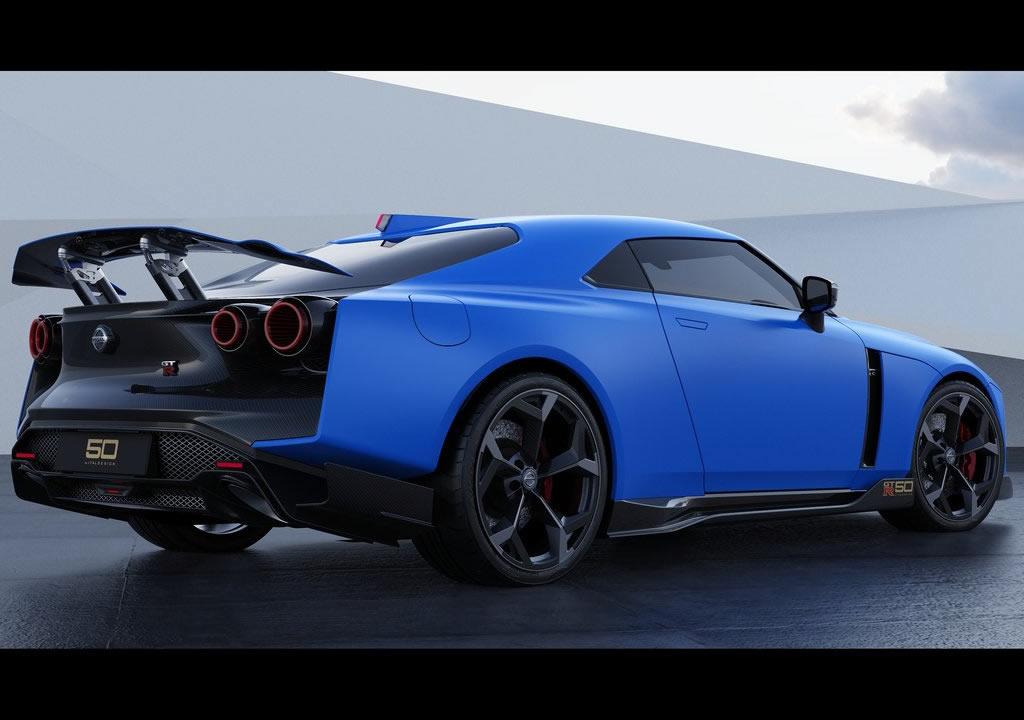 Yeni Nissan GT-R50