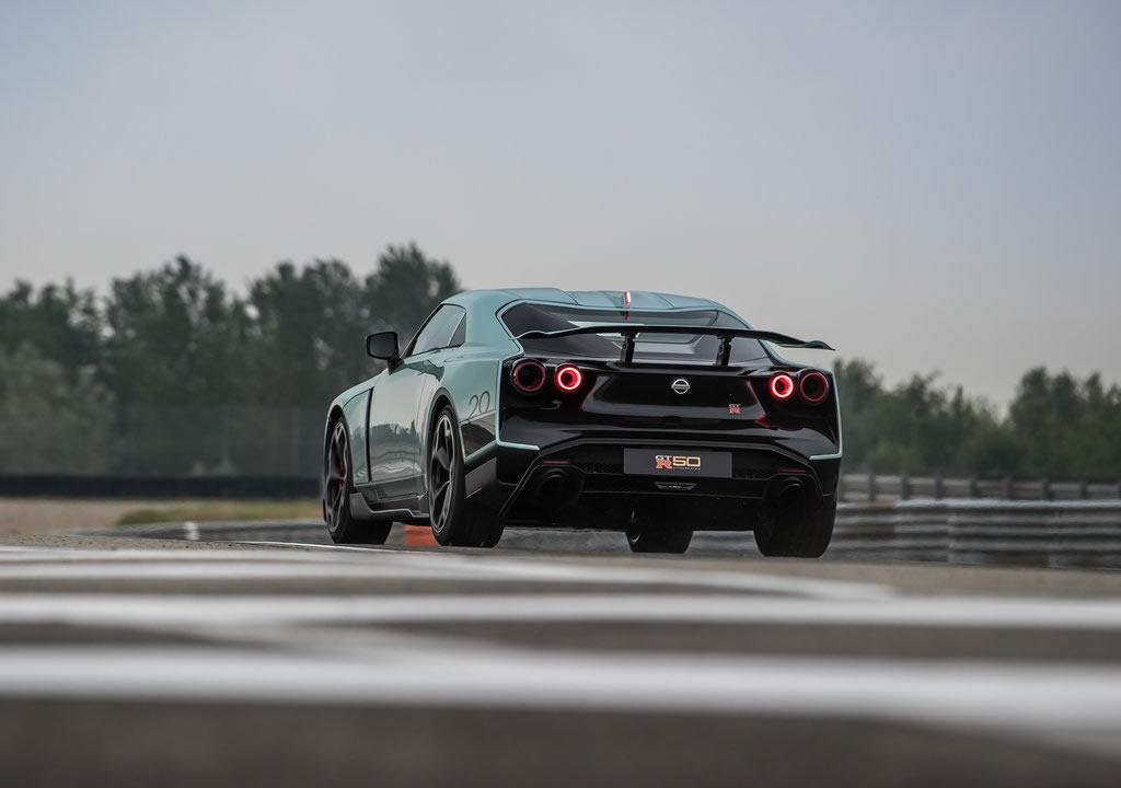 2021 Yeni Nissan GT-R50 by Italdesign Fotoğrafları