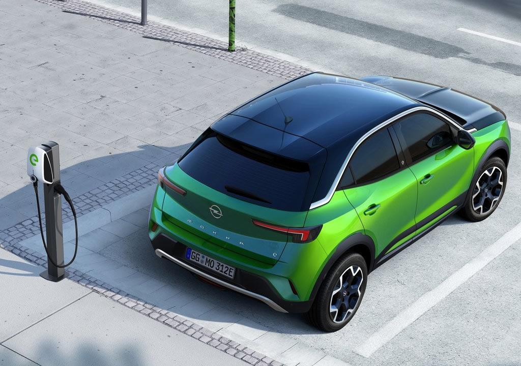 2021 Yeni Opel Mokka-e