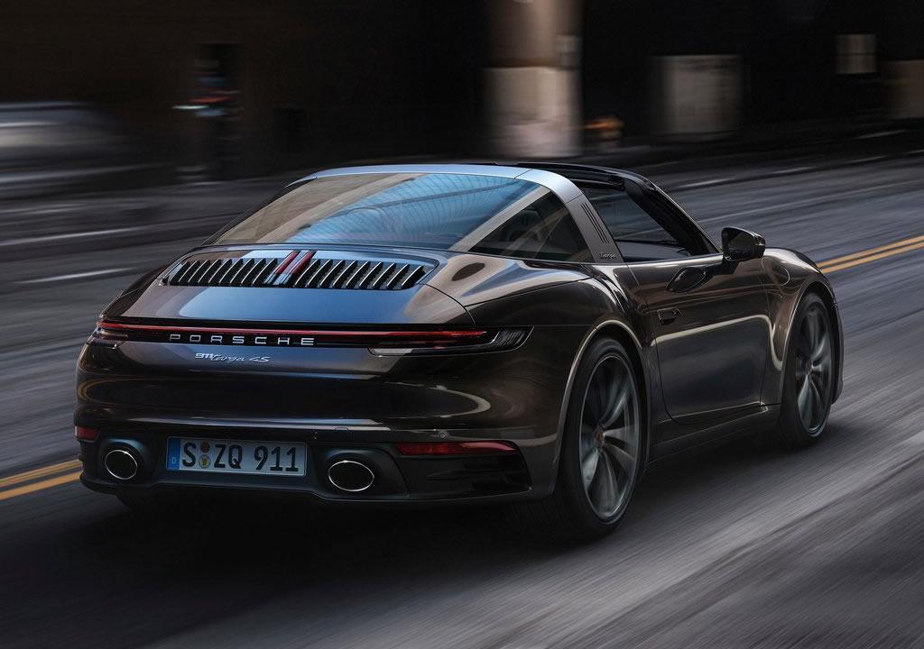 2021 Yeni Porsche 911 Targa 4 Fotoğrafları