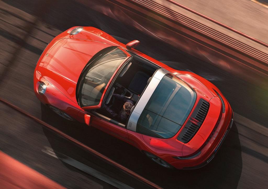 2021 Yeni Porsche 911 Targa 4 Donanımları