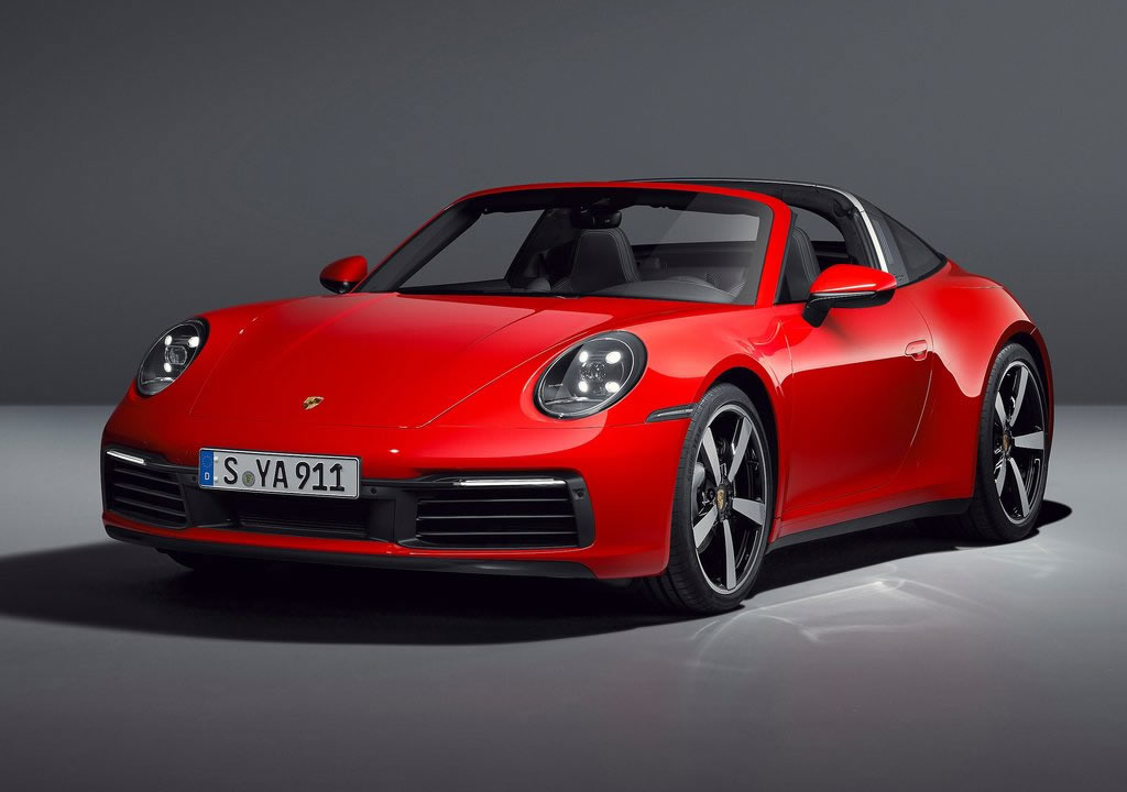 2021 Yeni Porsche 911 Targa 4 S