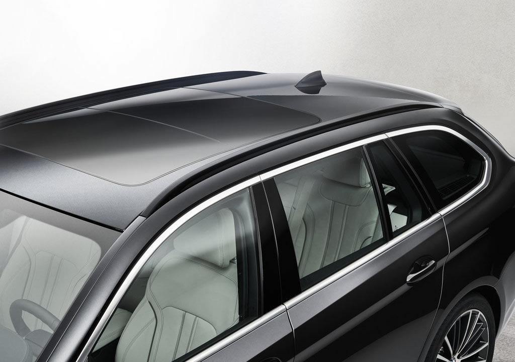 2021 Yeni BMW 5 Serisi Touring Bagajı