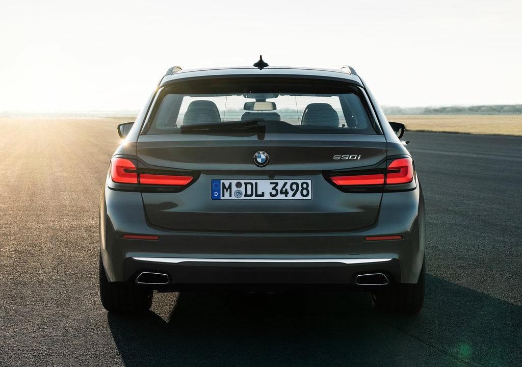 Makyajlı 2021 BMW 5 Serisi Touring