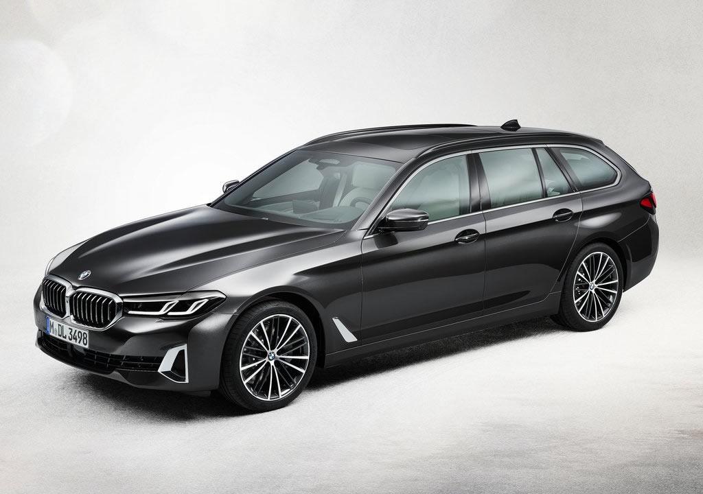 Makyajlı 2021 BMW 5 Serisi Touring Fotoğrafları