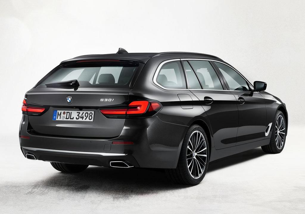 Makyajlı 2021 BMW 5 Serisi Touring Türkiye