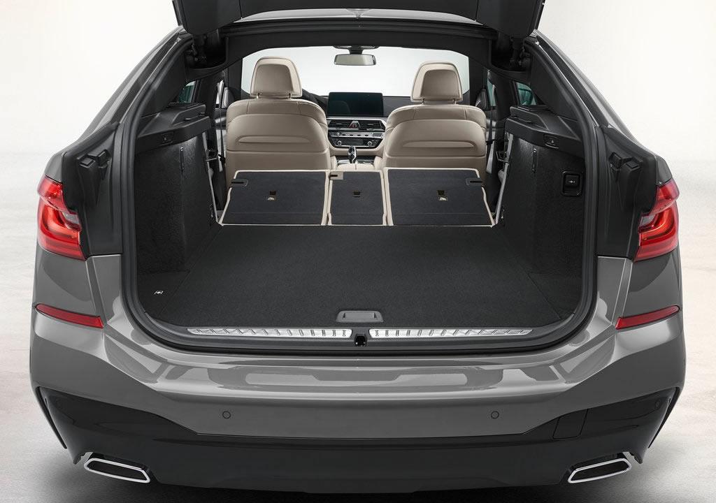 Makyajlı 2021 BMW 6 Serisi Gran Turismo Bagaj Alanı