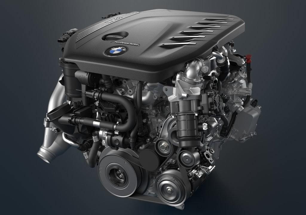 Makyajlı 2021 BMW 6 Serisi Gran Turismo Motoru