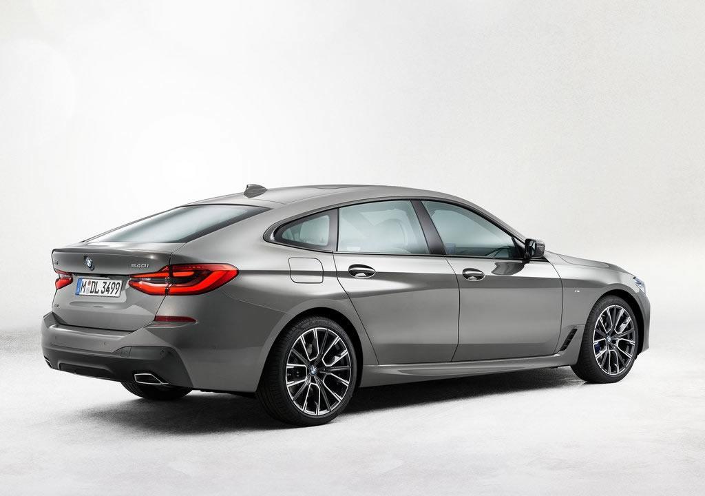 Makyajlı 2021 BMW 6 Serisi Gran Turismo Fotoğrafları