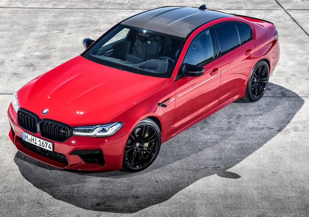 Makyajlı 2021 BMW M5 Competition Teknik Özellikleri
