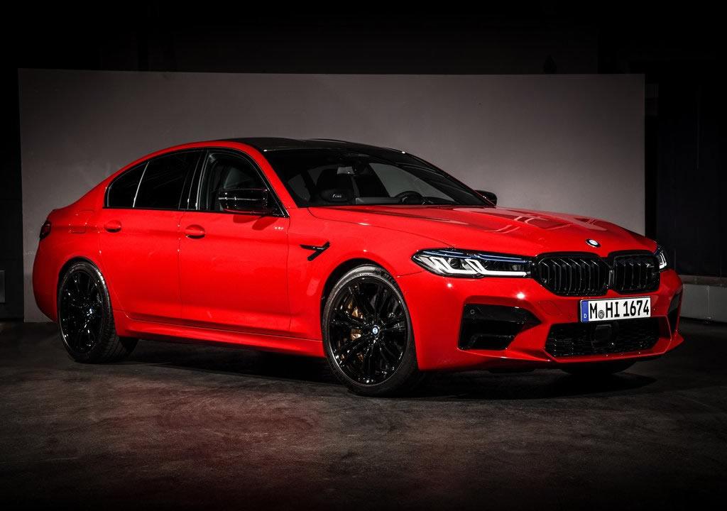 Makyajlı 2021 BMW M5 Competition Türkiye