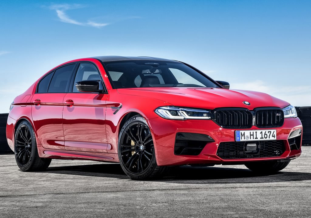 Makyajlı 2021 BMW M5 Competition Donanımlar