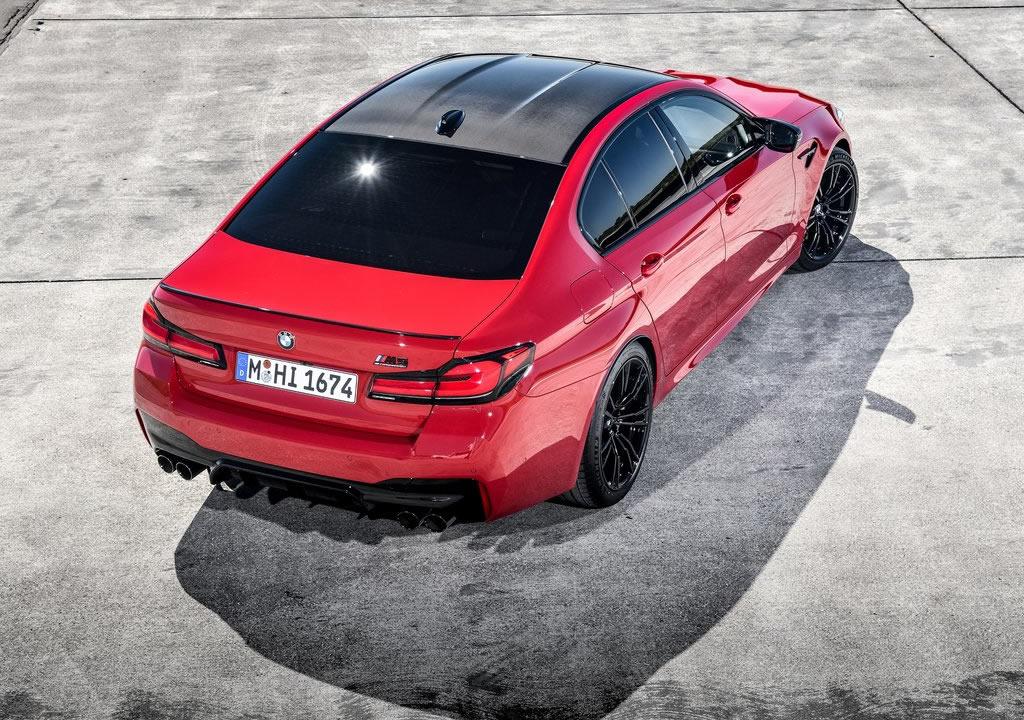 Makyajlı 2021 BMW M5 Competition Kaç Beygir?