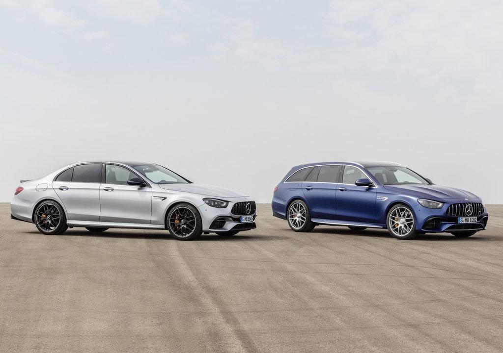 Makyajlı 2021 Mercedes-AMG E63 Donanımları