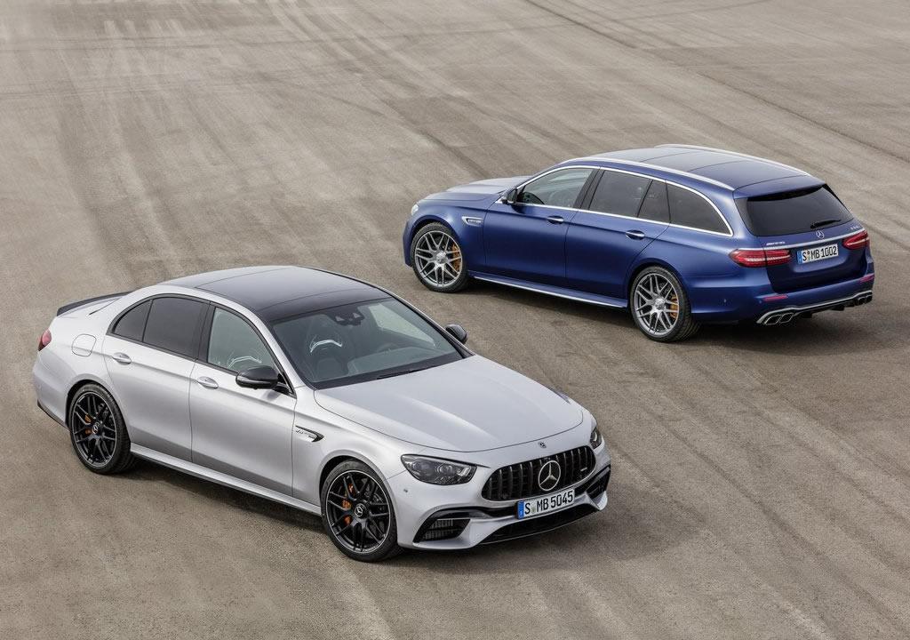 Makyajlı 2021 Mercedes-AMG E63 0-100 km/s