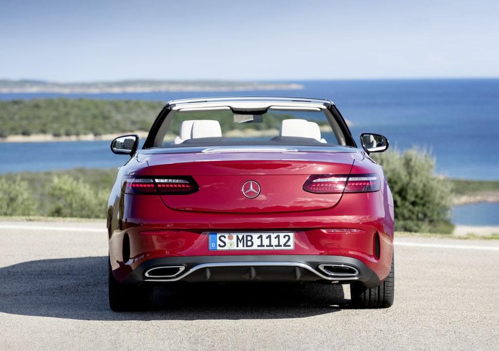 Makyajlı Mercedes-Benz E-Serisi Cabriolet