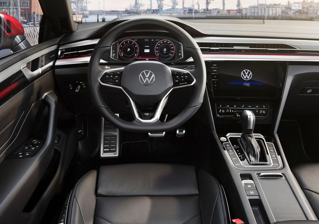 Makyajlı 2021 Volkswagen Arteon İçi