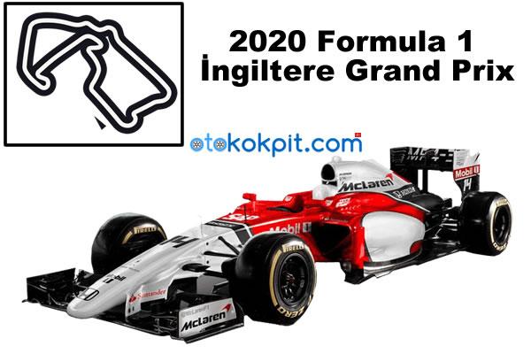 2020 Formula 1 İngiltere Grand Prix Hangi Gün