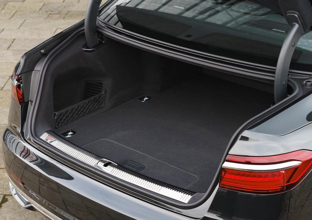 Yeni Audi A8 L 60 TFSI e Bagaj Alanı