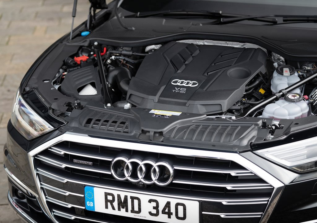 Yeni Audi A8 L 60 TFSI e Motoru