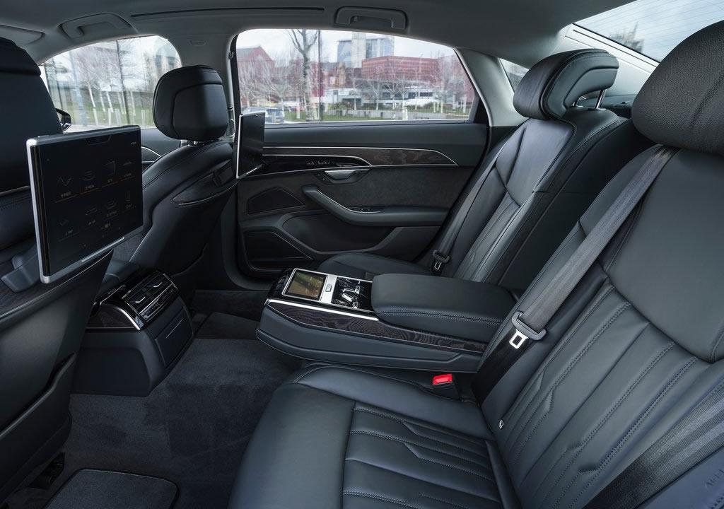 Yeni Audi A8 L 60 TFSI e İçi