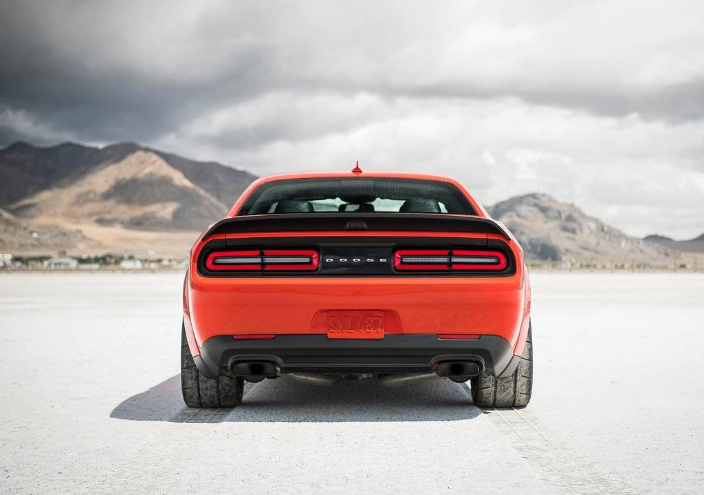 2021 Dodge Challenger SRT Super Stock Fotoğrafları