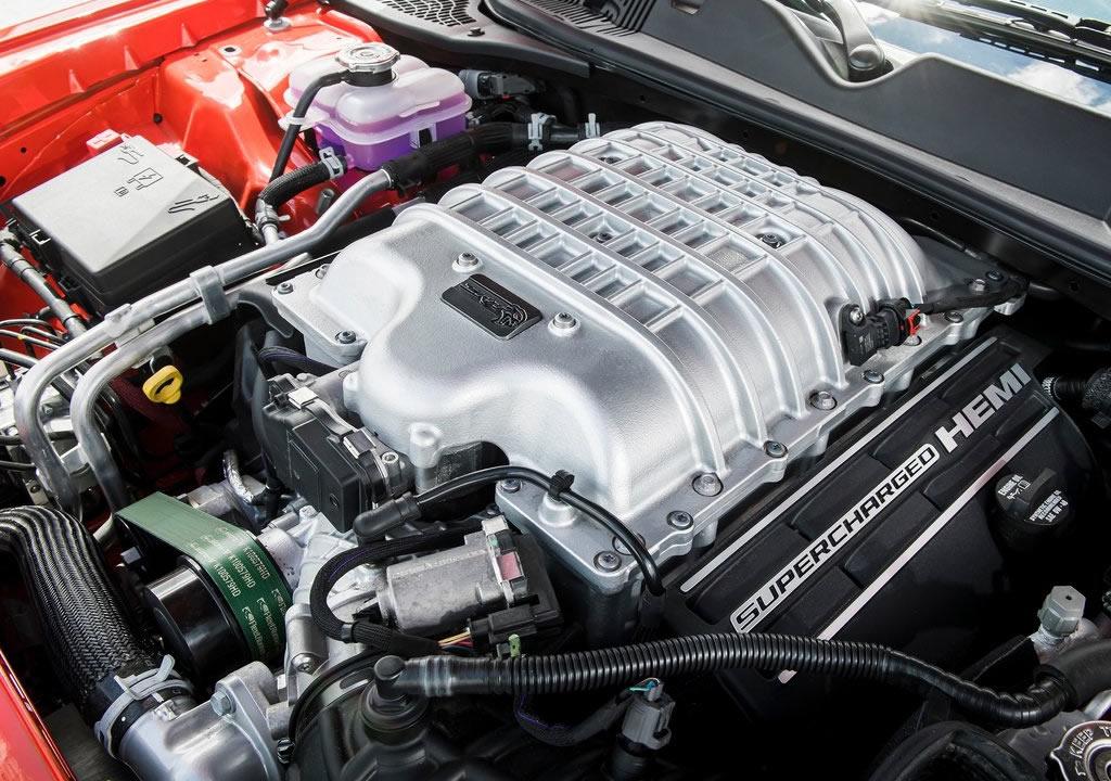 2021 Dodge Challenger SRT Super Stock Motoru