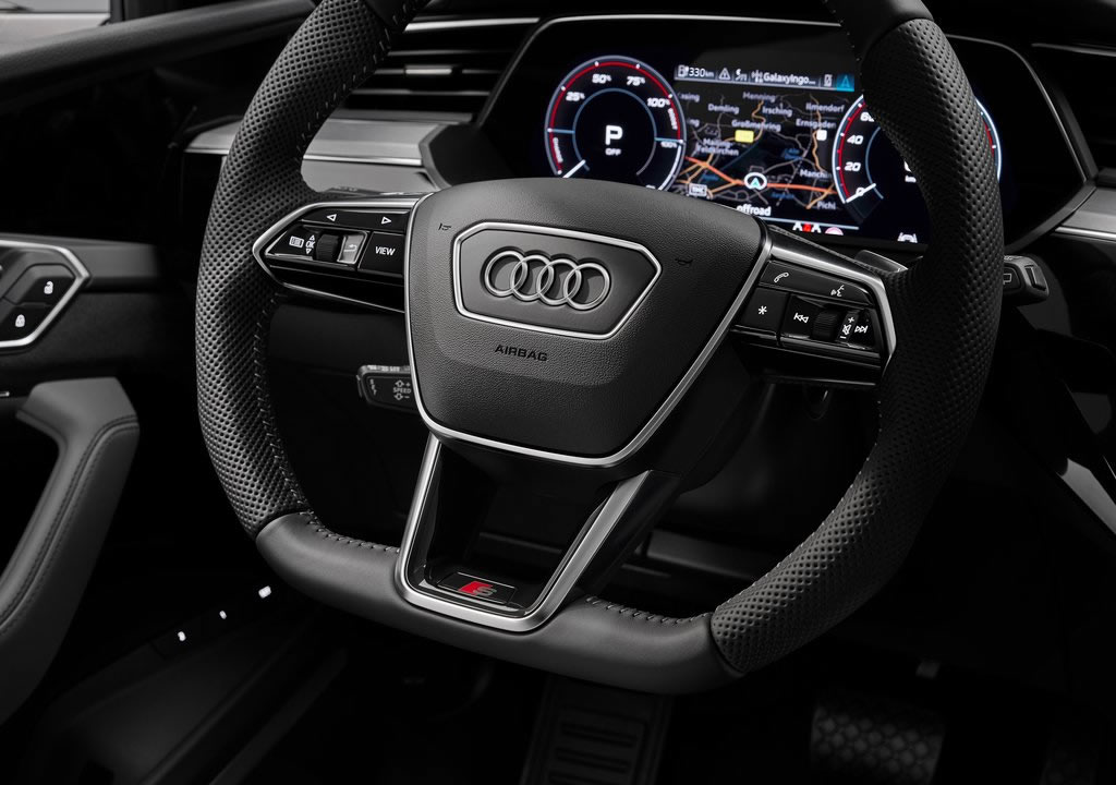 2021 Yeni Audi e-tron S İçi
