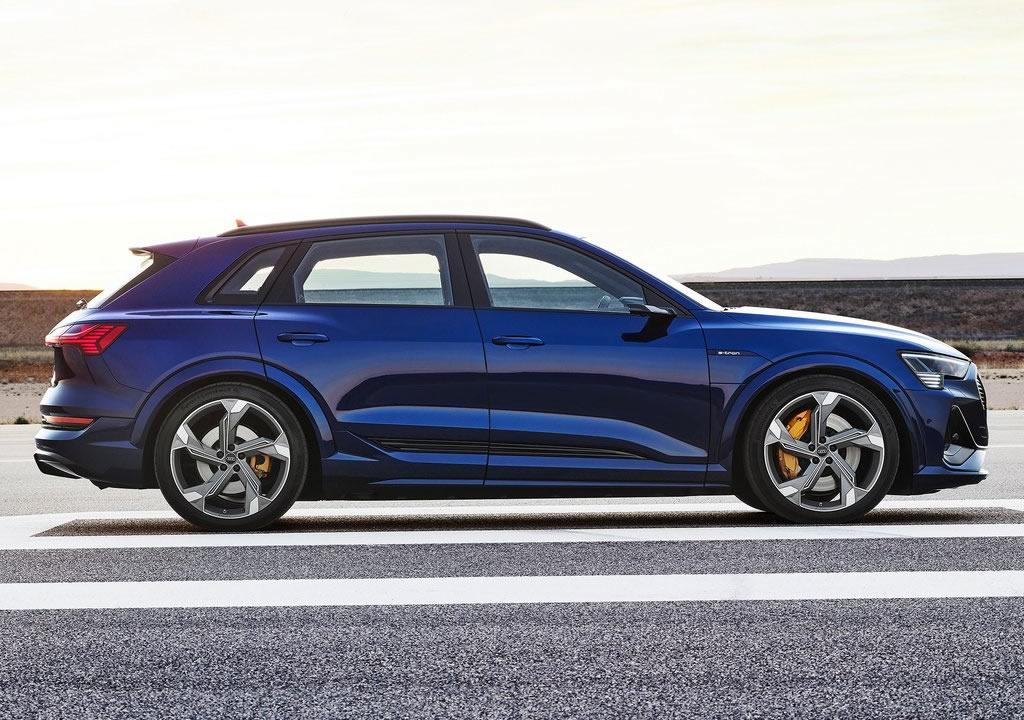 2021 Yeni Audi e-tron S Menzili