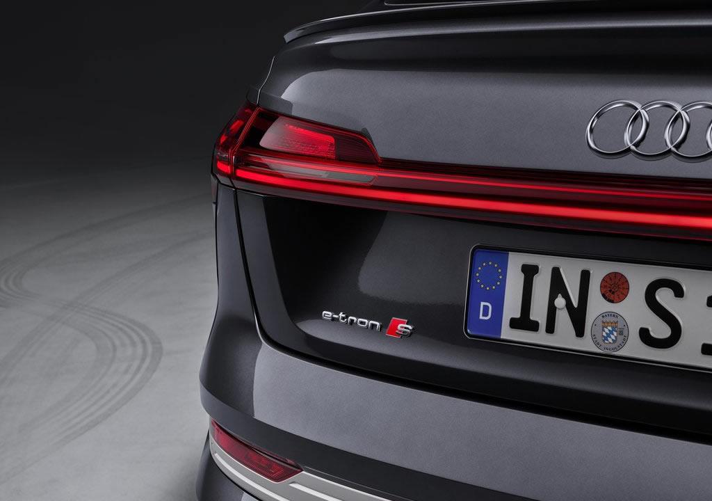 Yeni Audi e-tron S Sportback