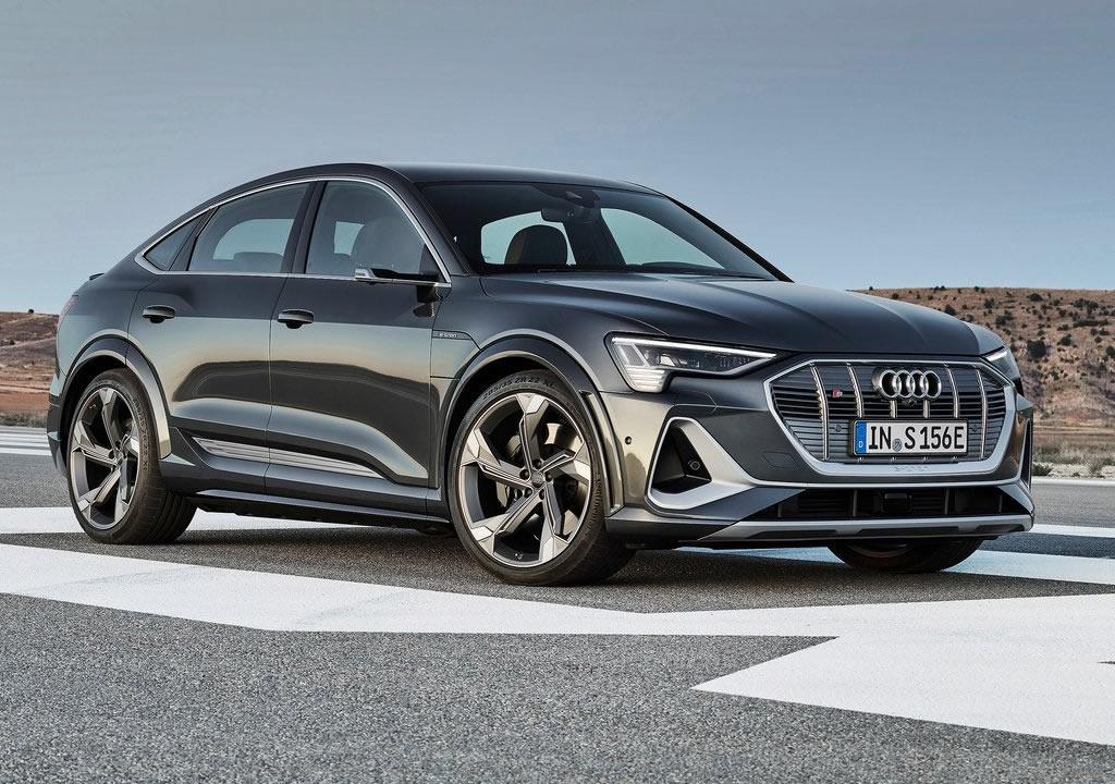 2021 Yeni Audi e-tron S Sportback