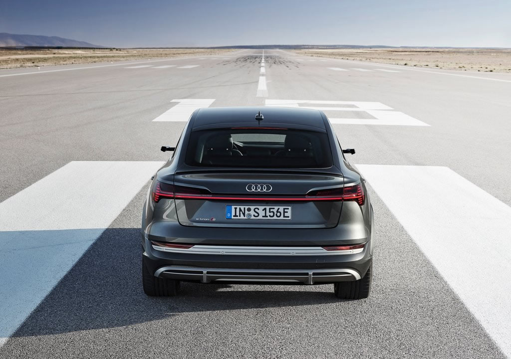2021 Yeni Audi e-tron S Sportback Motoru