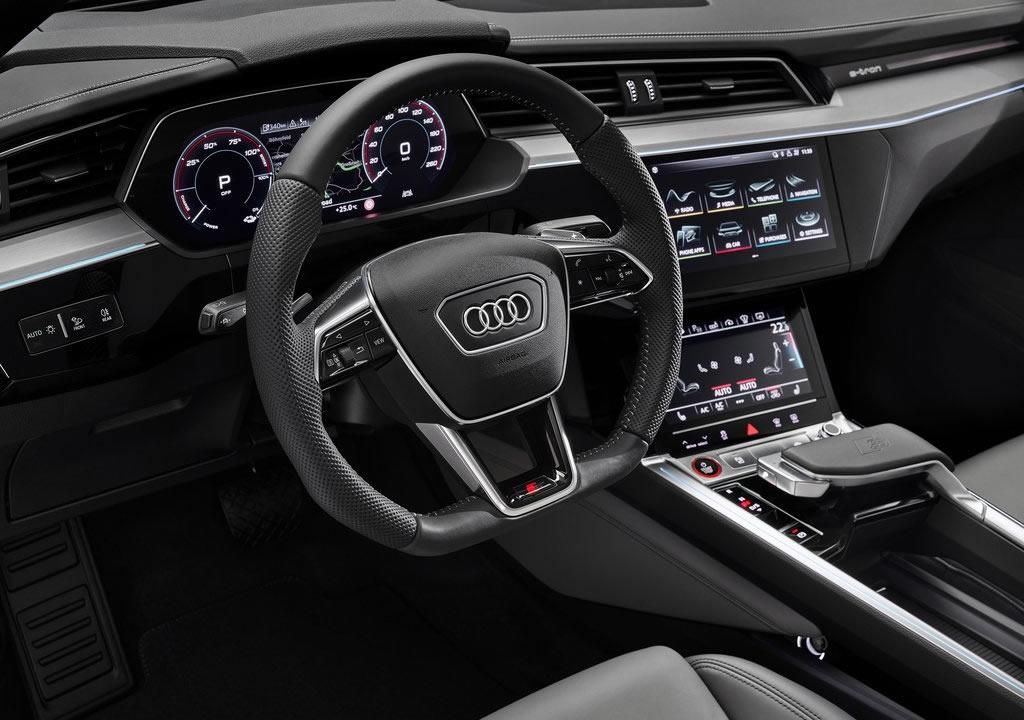 2021 Yeni Audi e-tron S Sportback İçi
