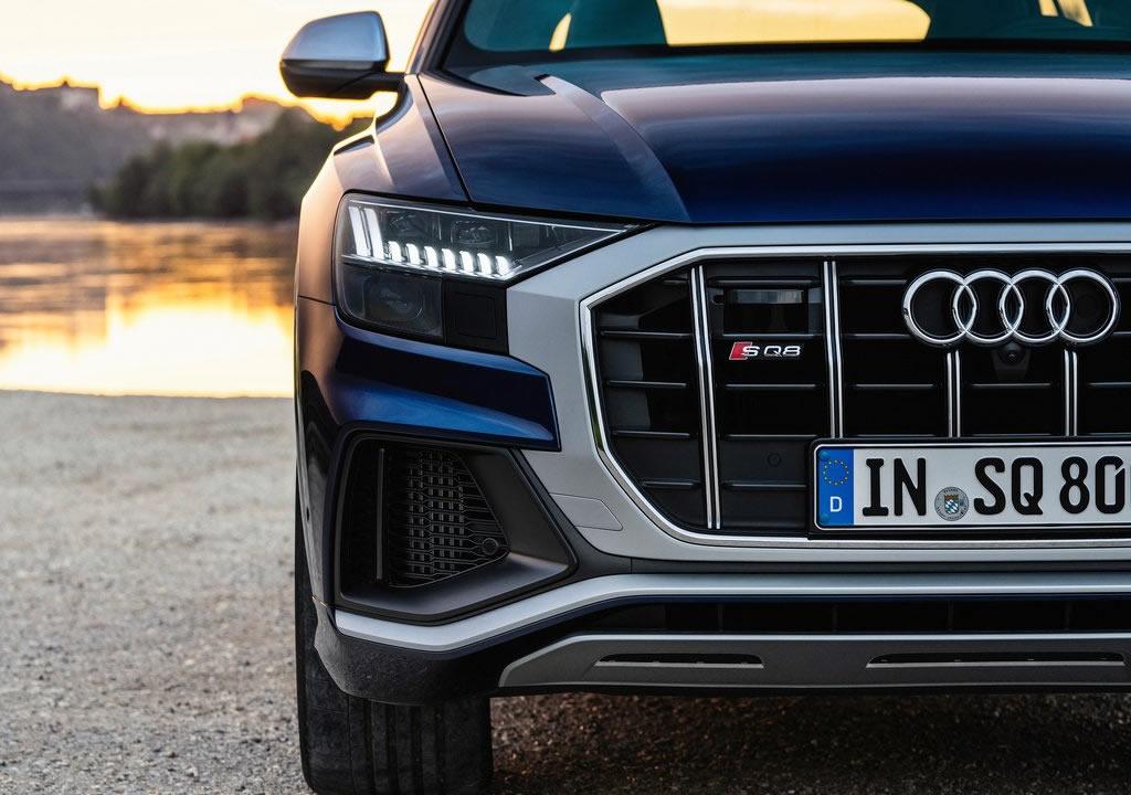 2021 Yeni Audi SQ8 TFSI Fotoğrafları