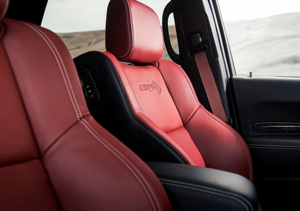 2021 Yeni Dodge Durango SRT Hellcat İçi