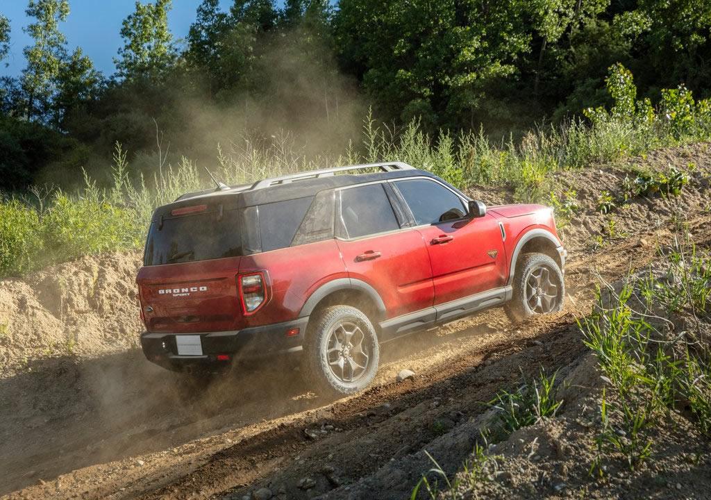 2021 Yeni Ford Bronco Sport Teknik Özellikleri