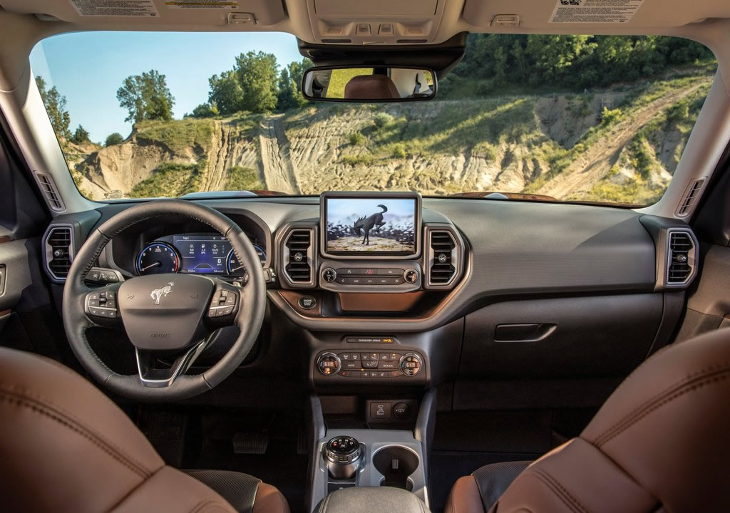 2021 Yeni Ford Bronco Sport Kokpiti