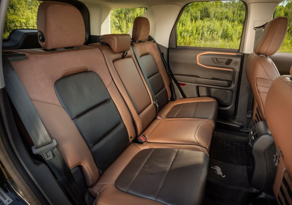 2021 Yeni Ford Bronco Sport İçi